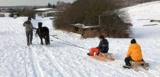 Winter in Mainburg (Bayern)